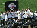 FC Gold Pride pose with 2010 WPS Championship Trophy 1.JPG