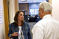 FEMA - 35733 - FEMA employee meets with congressman Boswell in Iowa JFO.jpg