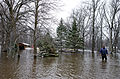 FEMA - 40416 - Resident wades through water in Minnesota.jpg