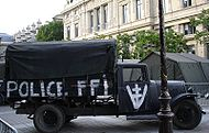 FFI and Free Republic of Vercors marked captured truck.