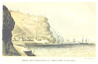 USS Perry (1843) - Jamestown, Saint Helena, Naval Basis