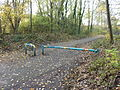 Fallowfield Loop barrier (8539993069).jpg