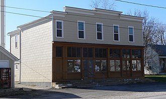 National Register of Historic Places listings in Montgomery County, Missouri - Image: Farmers Mercantile Co (High Hill, MO) 1