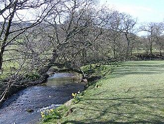 River Dove, North Yorkshire - The River Dove near Farndale