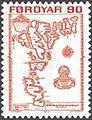 Faroe stamp 007 debes faroe map 90 oyru.jpg