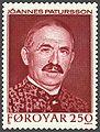 Faroe stamp 094 joannes patursson.jpg