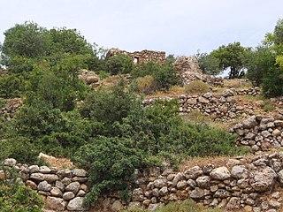 Farradiyya Village in Safad, Mandatory Palestine