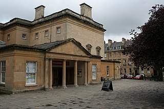 Bath Assembly Rooms Grade I listed building in Bath, England