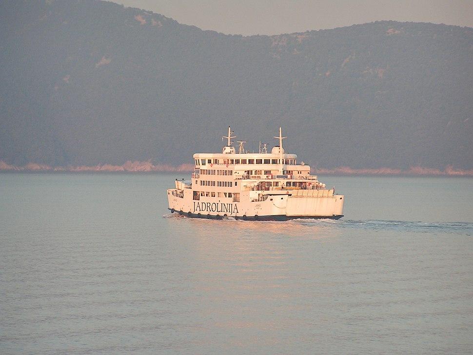 Ferry Krk-Cres