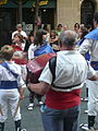 Festa Major de Gràcia 2011 - XIII cercavila de cultura popular - carrer Gran P1330062.jpg