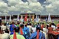 Festiwal Naadam na stadionie narodowym w Ułan Bator 21.JPG