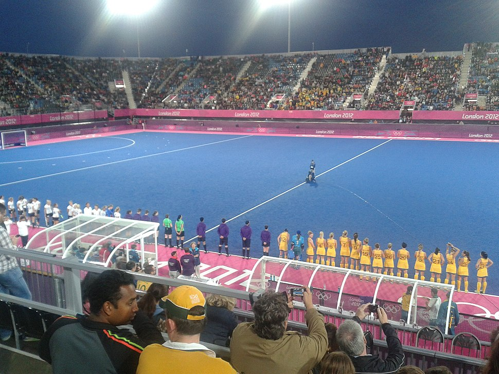 Field hockey at the 2012 summer olympics, womens ger vs aus.jpeg