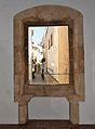 Finestra amb festejadors al museu Soler Blasco de Xàbia.JPG