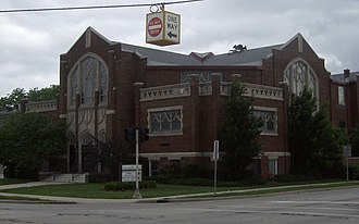 Mount Clemens, Michigan - Image: First United Methodist Mt Clemens MI