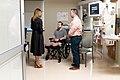 First Lady Melania Trump Visits Walter Reed National Medical Center (47926539311).jpg