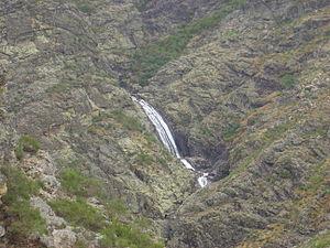 Nature Park of Alvão - The Fisgas de Ermelo situated within the Nature Park of Alvão