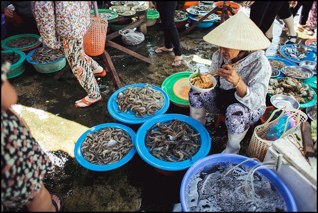 Marché central de Hoi An au Vietnam - Photo de Erwin Verbruggen