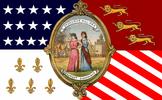 Flag of Detroit, Michigan (1948–1972)