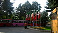 Flag of Iran in the Nishapur Railway Station square 11.JPG