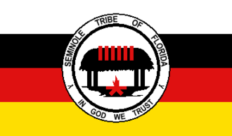 Seminole Tribe of Florida - Image: Flag of the Seminole Tribe of Florida
