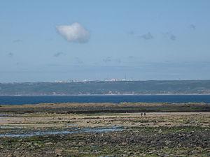 Flamanville Nuclear Power Plant - Image: Flamanville Diélette (Manche, Fr) vue sur la centrale nucléaire