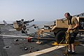 Flickr - Official U.S. Navy Imagery - A contractor prepares a Scan Eagle unmanned aerial vehicle launch..jpg
