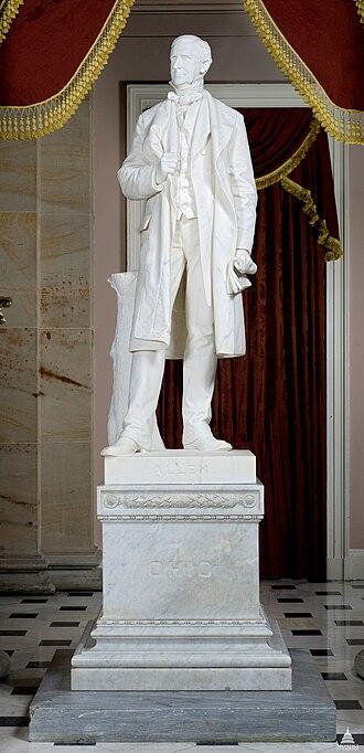 William Allen (Niehaus) - The statue in 2011