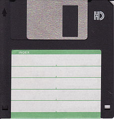 A floppy disk - one of many dead storage formats