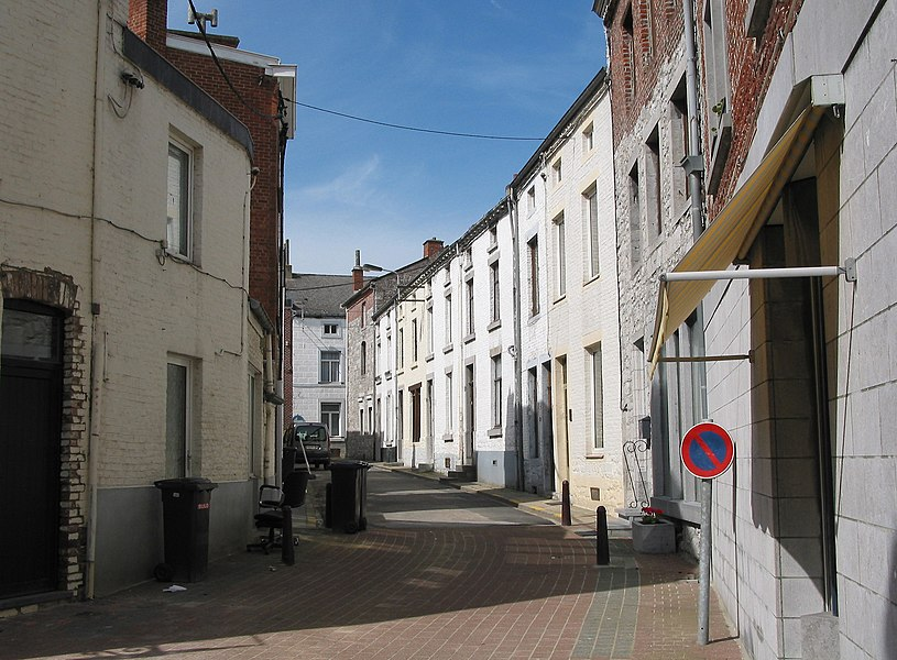 Florennes   (Belgium), an old neighbourhood of the town.