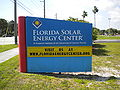 Florida Solar Energy Center sign 01.jpg