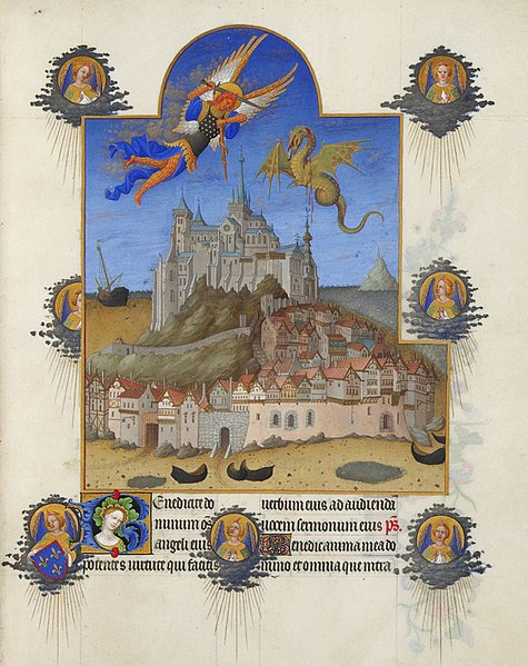 Fichier:Folio 195r - The Mass of Saint Michael.jpg