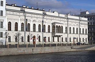 Fabergé Museum in Saint Petersburg, Russia - Shuvalov Palace in 2015