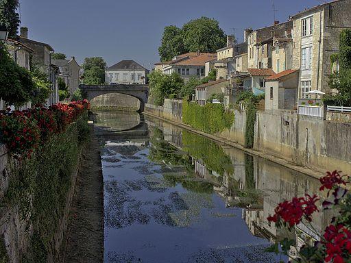Fontenay-Le-Comte - La Vendée vue depuis le Pont des Sardines