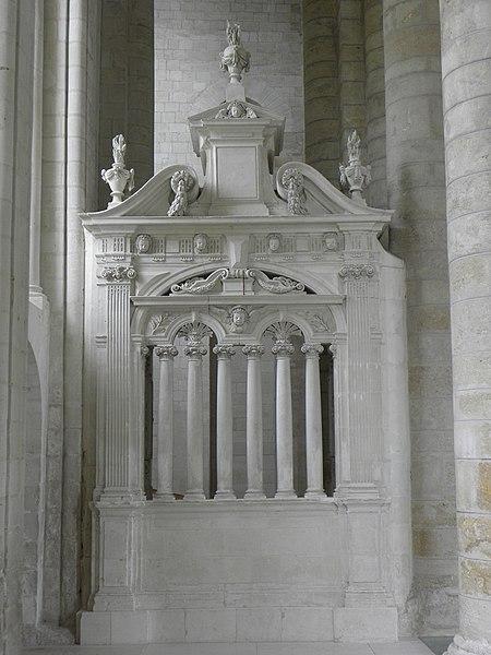 Clôture du chœur de l'abbatiale de Fontevraud (49).