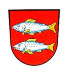 Das Wappen von Forchheim