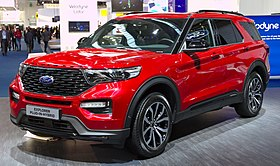 Ford Explorer (sixth generation) at IAA 2019 IMG 0603.jpg