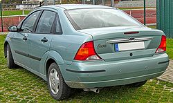 Ford Focus I Stufenheck (1999–2001) rear MJ.JPG