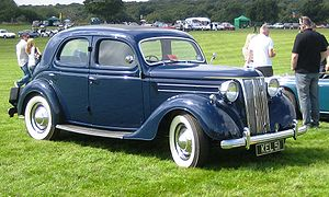 Ford of Britain - August 1947 1950 Ford V8 Pilot