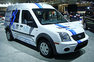 Azure Transit Connect Electric - Image: Ford Transit Connect Electric WAS 2011 887