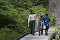 Forest Service Employee with youth at Baker Lake, Mt Baker Snoqualmie National Forest (31268333914).jpg