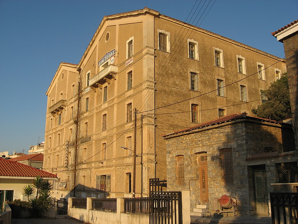 Former tobacco factory, Samos Town. - panoramio