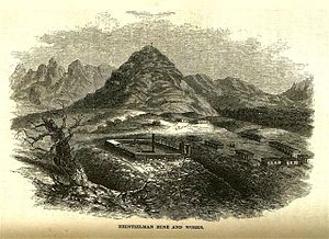 Charles Debrille Poston - The mining town and fort of Cerro Colorado, established by Poston and Major Heintzelmen.