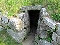 Fort Griswold tunnel entrance.JPG