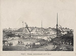 Fort Yuma - Image: Fort Yuma California 1875
