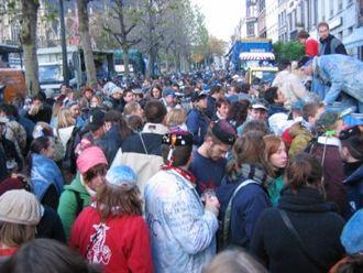 Sablon (Brussels) - Saint-Verhaegen festivities
