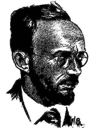 Fletcher Pratt - Fletcher Pratt, as pictured in the June 1929 issue of Science Wonder Stories