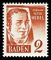 Fr. Zone Baden 1948 28 Johann Peter Hebel.jpg