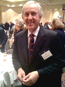 Tarkenton in January 2010 after a speech by General David Petraeus in Atlanta, Georgia