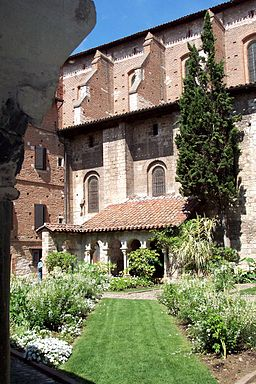 France Albi cloitre Saint Salvy