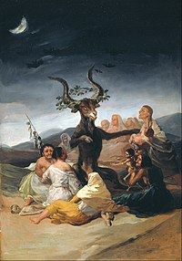 Francisco de Goya y Lucientes - Witches Sabbath - Google Art Project